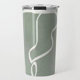 Abstract Faces Travel Mug
