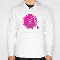 vinyl Hoodies featuring Vinyl by Billy Tester