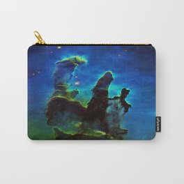 NEbula. : Teal Green Pillars of Creation Carry-All Pouch