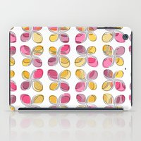 flower pattern iPad Cases featuring flower pattern by VessDSign