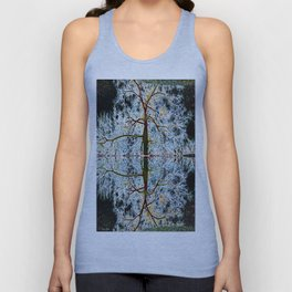 Electric Tree Double Reflection Unisex Tank Top