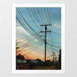 Interwebs Art Print