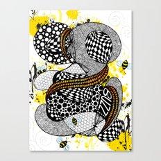 Buzzzz.....  Canvas Print