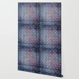 Urban Steel Texture Wallpaper