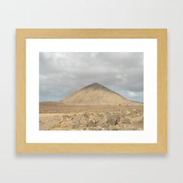 The Lonely Mountain Framed Art Print