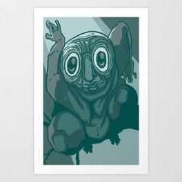 Owl Man (OWLMAN) Art Print