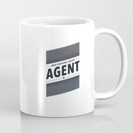 My Name Is Agent Coffee Mug