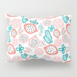 Pitahaya and Cactus Garden Pillow Sham