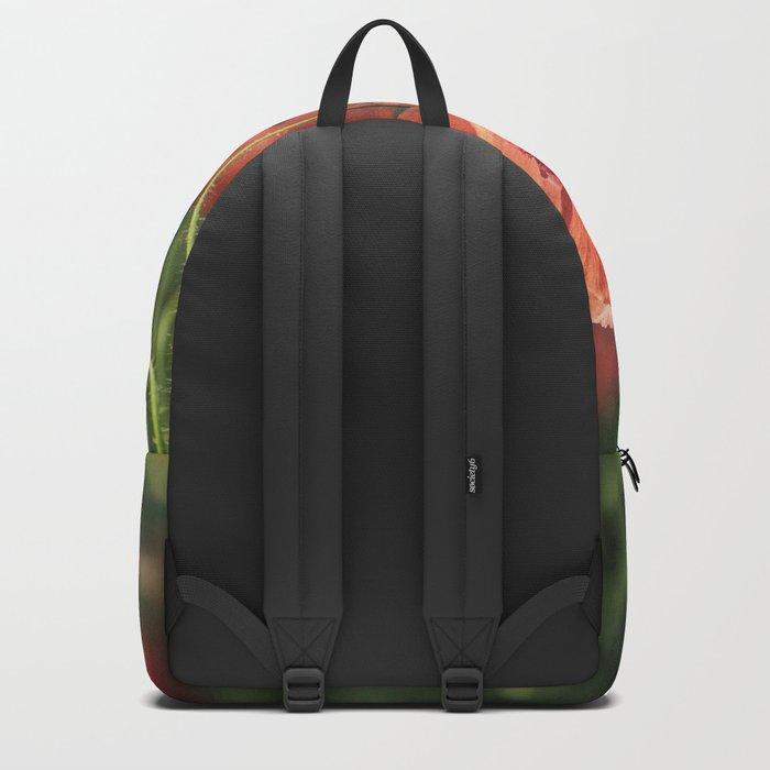 Poppy what else? Backpack