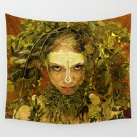 pagan Wall Tapestries featuring Pagan by Charlie Terrell