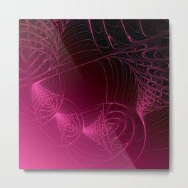 fractal design -308- Metal Print
