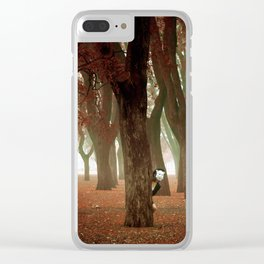 Misterio Clear iPhone Case