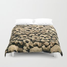 Wall of Remains Duvet Cover