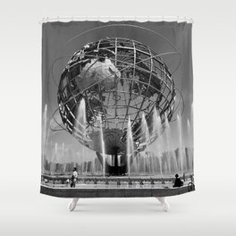 A Dramatic Summer Afternoon in Queens Shower Curtain