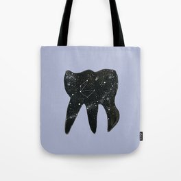 Cosmic Tooth Tote Bag
