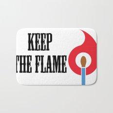 Keep the Flame Bath Mat