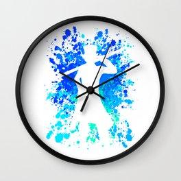 Anime Manga Sabo Paint Splatter Shirt Wall Clock