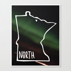 We are North 2 Canvas Print