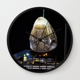 SpaceX Demo-1 Crew Dragon Capsule Returns to Port Canaveral Wall Clock