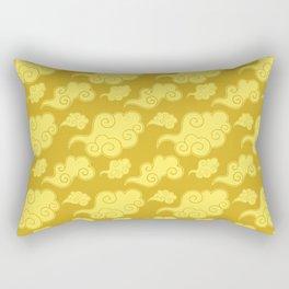Asian Clouds Dragonball Rectangular Pillow