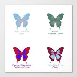 Butterflies 4 Canvas Print