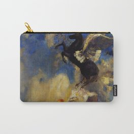 """Odilon Redon """"The Black Pegasus"""" Carry-All Pouch"""