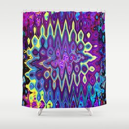 Color Madness Shower Curtain