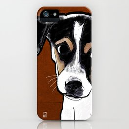 Dog: Rat Terrier iPhone Case