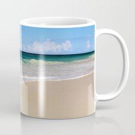 The Ocean's Lacy Fringe - Version 3 - Tropical Horizons Series Coffee Mug