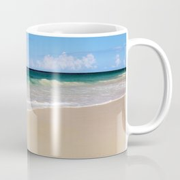 The Ocean's Lacy Fringe - Version 3 - Tropical Horizons Series Coffee Mug