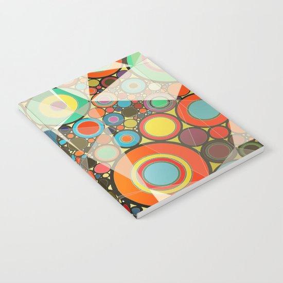 Rings pattern  Notebook