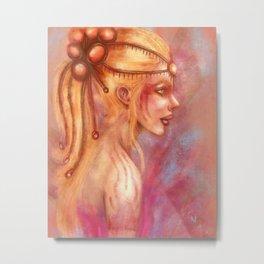 The Princess Metal Print