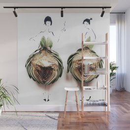 Edible Ensembles: Artichoke Wall Mural