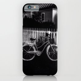 Grandmothers House - Black And White iPhone Case