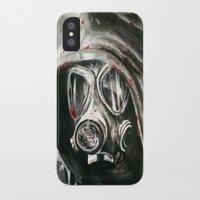 war iPhone & iPod Cases featuring War by Kait Evensen Art