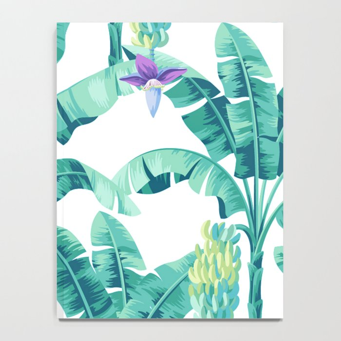 Banana leaf bloom Notebook