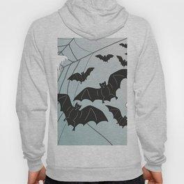 Bats & Monsters Halloween Spider Web Hoody