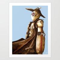 Lost wanderer Art Print