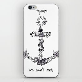 Larry's Tattoos Anchor iPhone Skin