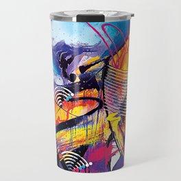 Abstract Art Britto - QB293 Travel Mug