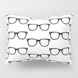 Black Funky Glasses Pillow Sham
