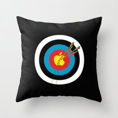 Apple Hit Throw Pillow