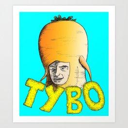 Tybo (Lost in Space) Art Print