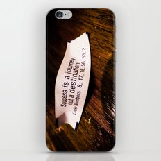 Success is a Journey iPhone & iPod Skin