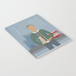 Mr. Rogers Icon Notebook