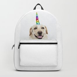 Funny Cute Unicorn Labrador Backpack
