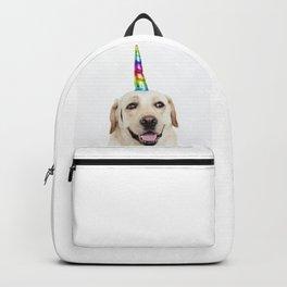 Funny Cute Unicorn Labrador Backpack