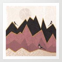 velvet underground Art Prints featuring Velvet by Kakel
