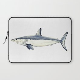 Mako shark (Isurus oxyrinchus) Laptop Sleeve