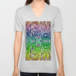 Exotic palms Unisex V-Neck